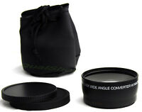58mm .43x Wide Angle Lens FOR Canon EOS Rebel T2i/ 550D