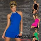 SEXY MINI DRESS TUNIC EVENING PARTY COCKTAIL EVENING JUMPER LONG TOP CLUBBING