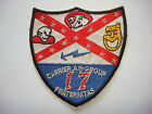 US Navy CARRIER AIR GROUP 17 FRATERNITAS With 4 Fighting Units Vietnam War Patch
