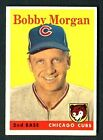 1958 Topps #144 BOBBY MORGAN Chicago Cubs EX-MT