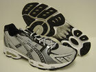 NEW Mens Sz 8.5 ASICS Gel Frenzy T90CQ 0191 White Black Sneakers Shoes