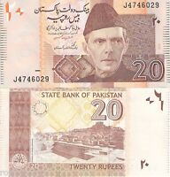 PAKISTAN 20 Rupees Banknote World Paper Money Currency BILL pick 46a 2006 note