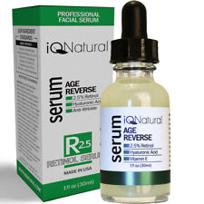 Organic Active Collagen RETINOL Vitamin A Facial Serum Wrinkle Acne & Age Repair