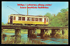 Postcard TROLLEY Streetcar CONNECTICUT Co 500 Branford Museum PARLOR CAR Trestle