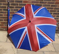 UNION FLAG UNION JACK LARGE MEN'S UMBRELLA WALKING GOLF - CARRY THE FLAG