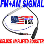 Deluxe Inline Car Antenna Radio AM & FM Signal Amp Amplifier Booster