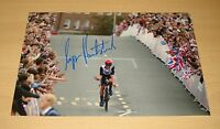 LIZZIE ARMITSTEAD GENUINE HAND SIGNED 12x8 AUTOGRAPH PHOTO OLYMPIC CYCLING + COA