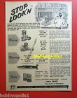K&B Ad for Control Line C/L Engines (Torpedo & Sky Fury), Supersonic Fuels, Boat