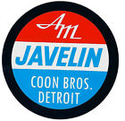 AMC JAVELIN COON BROTHERS DETRIOT DRAG RACE HOT ROD DECAL STICKER