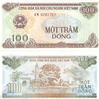 VIETNAM 100 Dong Banknote World Paper Money Currency Asia Note p105a 1991 Bill