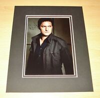 RICHARD ARMITAGE HAND SIGNED AUTOGRAPH 10x8 PHOTO MOUNT DISPLAY SPOOKS + COA
