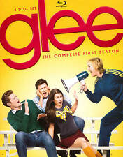 Glee:  The Complete First Season 1 One  (Blu-ray Disc, 2010, 4-Disc Set) NEW