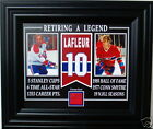 GUY LAFLEUR MONTREAL FORUM RED SEAT FRAMED 8x10