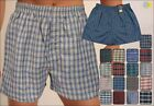 Herren Webboxer Shorts Kariert S M L XL XXL 3- er Set No Name