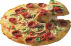 BIG Exterior Catering PIZZA Decal Cut Printed UV Laminated Food Sticker