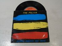 """THE POLICE - Every Breath You Take - 1983 UK 7"""" Vinyl Single In Picture Sleeve"""