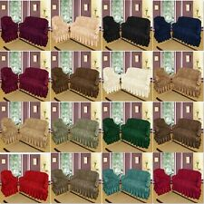*STOCK CLEARANCE* SOFA COVERS Universal Fitting High Quality Better Than Throw