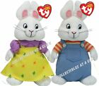 Max and Ruby Set of 2 Beanie Babies by Ty Brand New!