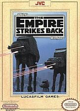 STAR WARS THE EMPIRE STRIKES BACK with cosmetic flaws NINTENDO GAME SYSTEM NES