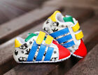 Baby Boy Girl Colourful Soft Sole Sneakers Crib Shoes Size Newborn to 18 Months