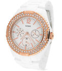 GUESS MULTI-FUNCTION PLASTIC 100M LADIES WATCH U0062L6