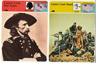 GENERAL GEORGE ARMSTRONG CUSTER 5 History Picture STORY OF AMERICA CARDS