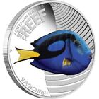 2012 50c The Reef Surgeonfish 1/2oz Silver Proof Coin