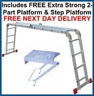 "NEW Superior ""BIG RED FOOT"" 4.75m Multi Purpose Ladder Ladders"