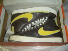 Nike Blazer Hi High Supreme Premium BROWN YELLOW 316963-271 Shoes Sneakers 6