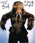 TIM DRY STAR WARS WHIPHID HAND SIGNED PHOTO COA AUTOGRAPH #1