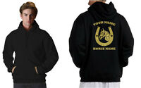 HORSE RIDING HOODIE ,PERSONALISED GIFT