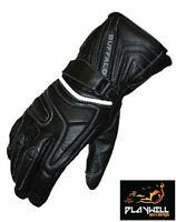 Buffalo Arctic Leather Motorcycle Gloves XLarge Bike Winter Waterproof Thermal‏