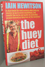 signed Iain Hewitson The Huey Diet 2001 a diet book for real people great recipe