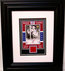 MAURICE RICHARD CANADIENS CENTENNIAL FORUM SEAT FRAMED