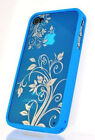 APPLE iPHONE 4 4S SGP BLUE SLIDER SOFT CASE COVER WITH MATTE SCREEN PROTECTOR