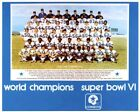 1971 DALLAS COWBOYS NFL CHAMPIONS SUPER BOWL TEAM 8X10 PHOTO