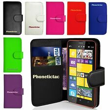 Flip Leather Wallet Case Cover & Screen Protector For Various Nokia Lumia Phone