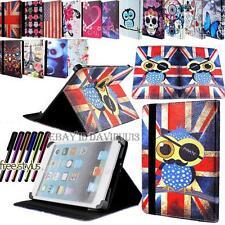"""UNIVERSAL 7"""" 8"""" 9"""" 10"""" 10.1 FOLIO LEATHER STAND CASE COVER FOR ANDROID TABLET PC"""