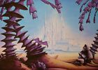 Tanelorn, Poster signed by Rodney Matthews