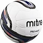 MITRE Pro Max Size 5 Football Match Foot Ball White NEW!!