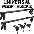 Universal Car Van Roof Racks Top Cross Bar Luggage Rack Rail Steel Crossbar NEW