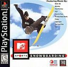 MTV Sports Snowboarding PS1 DISC ONLY