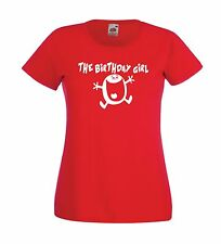BIRTHDAY GIRL funny mothers sisters aunts girls present gift idea womens T SHIRT