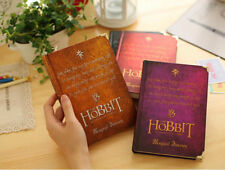 New The Lord of the Rings Hobbit Bound Journal Diary Notebook Ratro Hard Cover