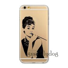 Painted Transparent Design Soft TPU Case Cover For Apple iPhone 4 5 5S 6 6 Plus