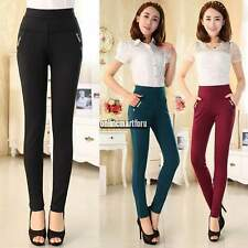 Lady Women's High Waisted Casual Stretch Pants Slim Leggings Jeggings Trousers