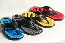 New Men's Sport Casual Massage Flip Flops Thongs Sandals Shoe with Arch Support