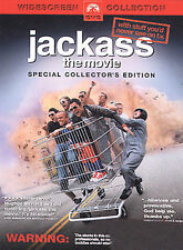 Jackass: The Movie (DVD, 2003, Collector's, Widescreen) Johnny Knoxville