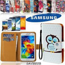 Flip Wallet Card Stand Pu Leather Case Cover For Various Samsung Galaxy Phones