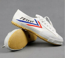 Authentic Feiyue Original Lo Parkour Training Martial Arts Kung Fu Wushu white